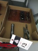 """Starrett 6"""" Master Level, Planer Gage and Lufkin Square Set (SOLD AS-IS - NO WARRANTY)"""