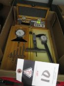 """Import 1""""-2"""" Thread Pitch Mic, SPI 0-6"""" Dial Depth Gage, and Mitutoyo Depth Mic (SOLD AS-IS - NO"""