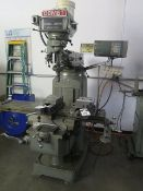 Comet 3KVHD Vertical Mill s/n 930113 w/ Sony Magnascale LH11 DRO, 60-4200 Dial Change, SOLD AS IS