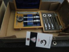 """SPI Bore Mic Set .500""""-.800"""" and Mitutoyo Bore Mic Set .275""""-.500"""" (SOLD AS-IS - NO WARRANTY)"""