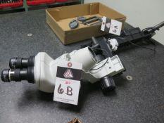 Nikon SMZ-745 Stereo Microscope w/ Light Source (NO MOUNTING BRACKET) (SOLD AS-IS - NO WARRANTY)