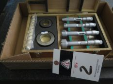 """Mitutoyo Bore Mic Set .800""""-2.000"""" (SOLD AS-IS - NO WARRANTY)"""