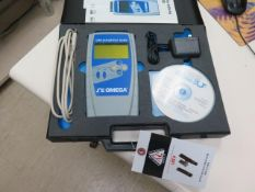 Omega OM-DAQPRO-5300 Portable Hand Held Data Logger w/ Acces (SOLD AS-IS - NO WARRANTY)