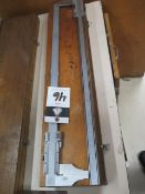 """Helios and Modern Tools 24"""" Vernier Calipers (2) (SOLD AS-IS - NO WARRANTY)"""