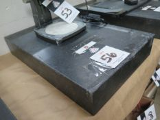 """12"""" x 18"""" x 3"""" Granite Surface Plate (SOLD AS-IS - NO WARRANTY)"""