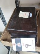 Gage Block Sets (2-Complete) (SOLD AS-IS - NO WARRANTY)