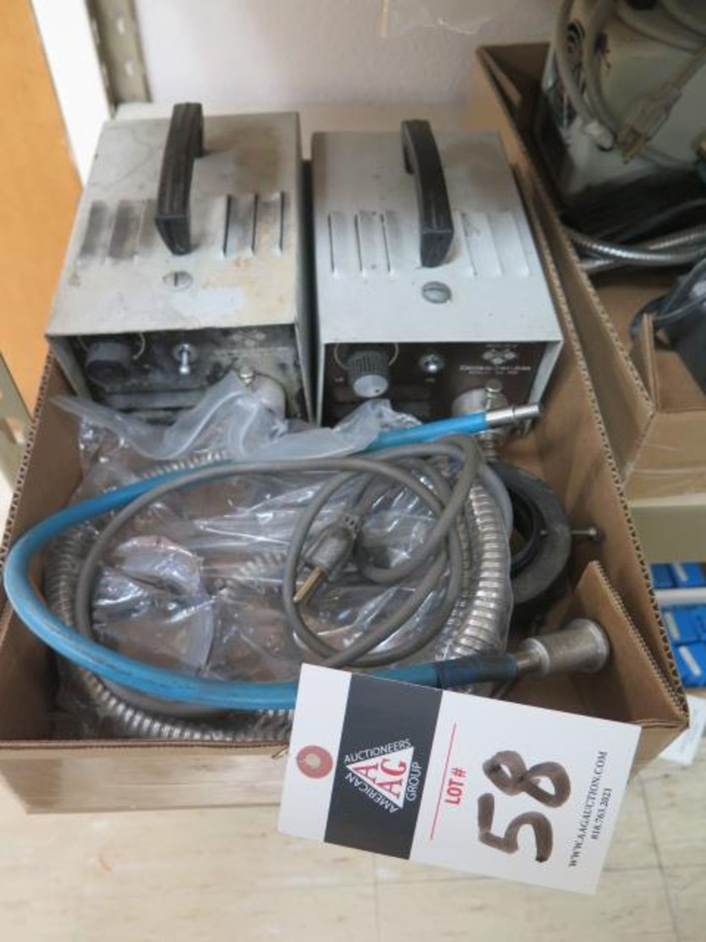 Fiber-Optic Light Sources (2) (SOLD AS-IS - NO WARRANTY)