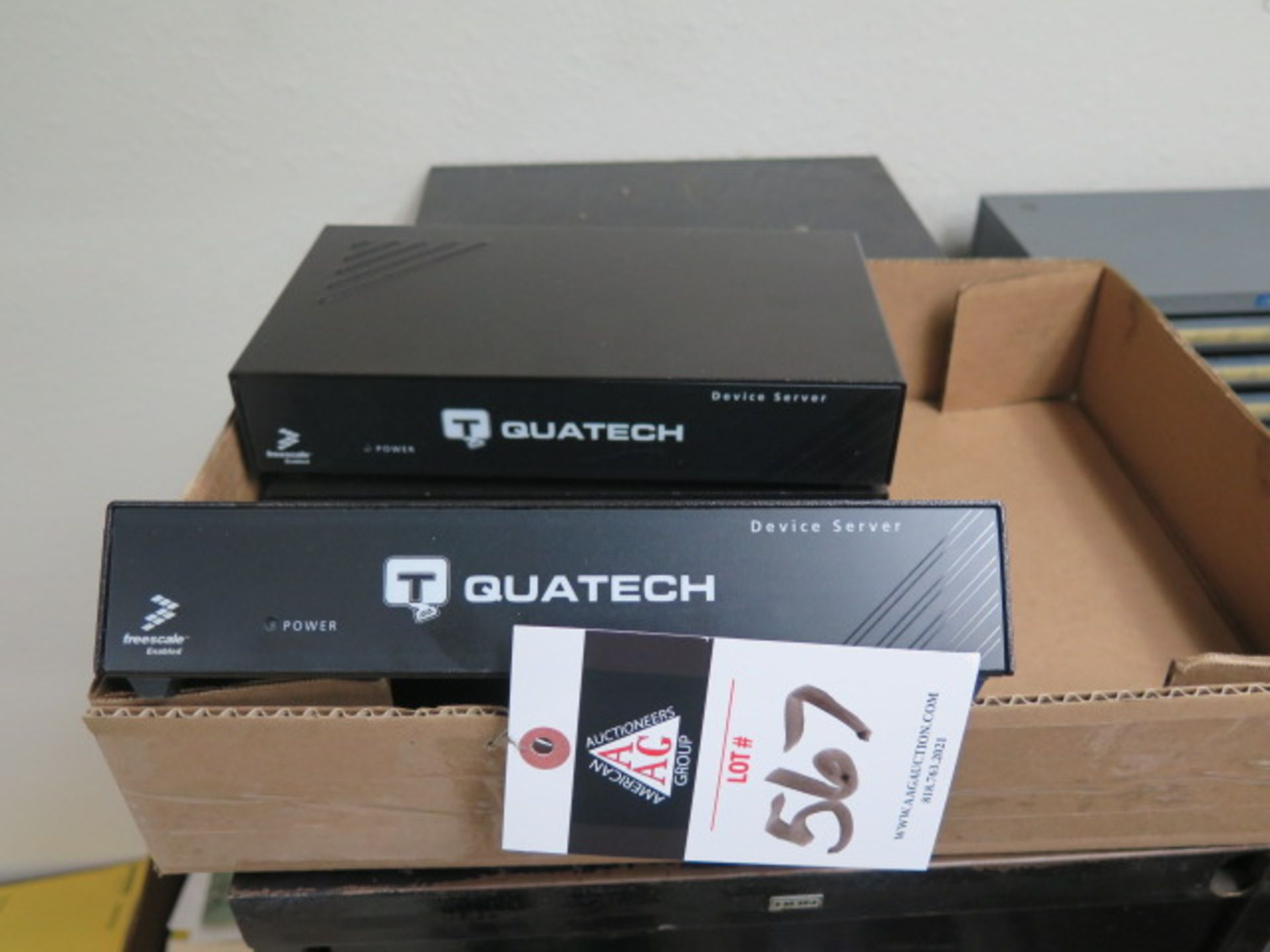 Quatech ESE-100D-SS G Device Servers (3) (SOLD AS-IS - NO WARRANTY)