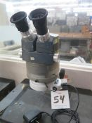 AO Stereo Microscope w/ Light Source (SOLD AS-IS - NO WARRANTY)