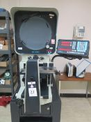 """Deltronic DH214-MPC5E 14"""" Optical Comparator s/n 259074202 w/Deltronic MPC-5 Programmable SOLD AS IS"""