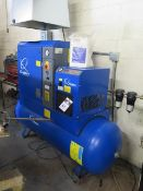 2014 Quincy QGS-10 D CSA/UL 10Hp Rotary Air Compressor s/n CAI760874 w/ Built-In Refrigerated Air