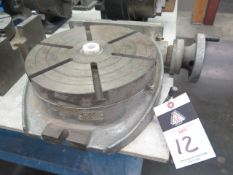 """12 1/2"""" Rotary Table (SOLD AS-IS - NO WARRANTY)"""