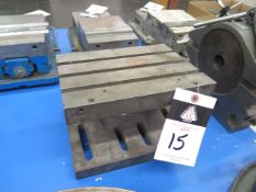 """8"""" x 10"""" Adjustable Angle Plate (SOLD AS-IS - NO WARRANTY)"""