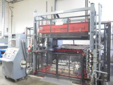 MAAC mdl. 54SP Vacuum Thermoforming Machine s/n 03693 w/ MAAC Controls, SOLD AS IS