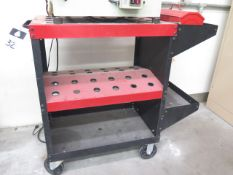 """Huot """"Toolscoot"""" 30-Taper Tooling Cart (SOLD AS-IS - NO WARRANTY)"""