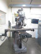 Bridgeport / EZ-Trak 2-Axis CNC Vertical Mill w/ EZ-Trak DX Controls, 2Hp Motor, 60-4200, SOLD A IS