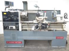"""Clausing-Metosa C2045SS 20"""" x 45"""" Geared Gap Bed Lathe w/ Acu-Rite Prog DRO, 30-1500, SOLD AS IS"""