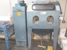 Universal Dry Blast Cabinet w/ Dust Collector (SOLD AS-IS - NO WARRANTY)