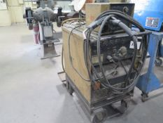 Hobart DC-300-LS Arc welding Power Source w/ Hobart 2000 Wire Feeder (SOLD AS-IS - NO WARRANTY)