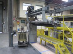Airline Welding & Engineering mdl. 11313 6' Longitudinal Seam Welder w/ Airline Controls, Hobart