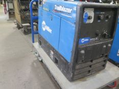 Miller Trailblazer 325 Gas Powered DC Welder / 12,000 Watt Generator s/n ME410062R (SOLD AS-IS -