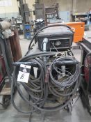 Miller XMT-350 CC-CV Arc Welding Power Source w/ Miller X-Treme 12VS Wire Feeder (SOLD AS-IS - NO