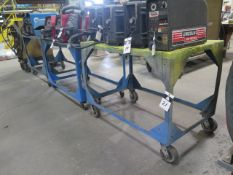 Steel Stock Carts (3) (SOLD AS-IS - NO WARRANTY)