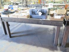 "72"" x 72"" Steel Welding Table (SOLD AS-IS - NO WARRANTY)"