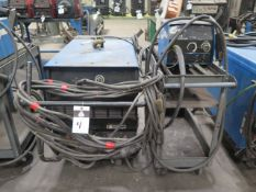Miller Deltaweld 452 CV-DC Arc Welding Power Source w/ Miller 22A Wire Feeder (SOLD AS-IS - NO