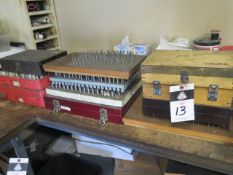 Pin Gage Sets (SOLD AS-IS - NO WARRANTY)