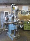 Bridgeport / EZ Trak 2-Axis CNC Vertical Mill s/n 261564 w/ EZ Trak SX Controls, 2Hp, SOLD AS IS