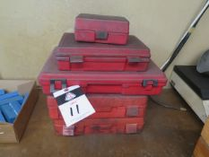 """Pin Gage Sets .011""""-.750"""" (SOLD AS-IS - NO WARRANTY)"""