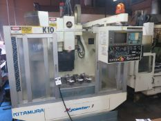 Kitamura Mycenter-1 CNC Vertical Machining Center s/n 02996 w/ Fanuc Series 0-M Controls, SOLD AS IS