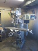 Bridgeport / EZ Trak 2-Axis CNC Vertical Mill s/n 265930 w/ EZ Trak SX Controls, 2Hp, SOLD AS IS