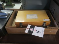 Gage Block sets (2) (SOLD AS-IS - NO WARRANTY)