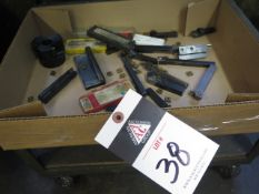Insert Turning Tools w/ Carbide Inserts (SOLD AS-IS - NO WARRANTY)