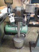 """Craftsman 6"""" Pedestal Grinder (SOLD AS-IS - NO WARRANTY)"""