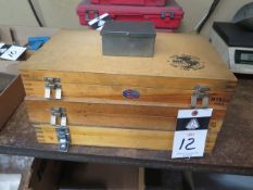 """Meyer Pin Gage Sets .011""""-.500"""" (SOLD AS-IS - NO WARRANTY)"""