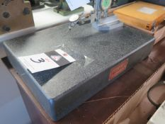 """Mojave 12"""" x 18"""" x 3"""" Granite Surface Plate (SOLD AS-IS - NO WARRANTY)"""