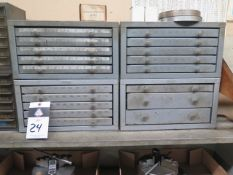 Huot Drill Cabinets (4) (SOLD AS-IS - NO WARRANTY)