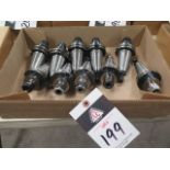 CAT-40 Taper ER16 Collet Chucks (10) (SOLD AS-IS - NO WARRANTY)