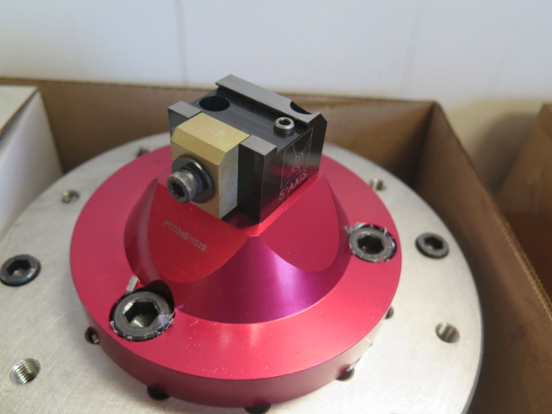 5th Axis Fixtures Micro Vise w/ Mounting Plate (SOLD AS-IS - NO WARRANTY) - Image 3 of 5