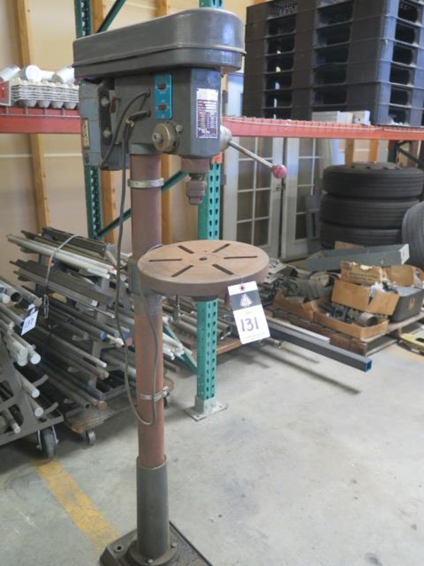 Test Rite Pedestal Drill Press (SOLD AS-IS - NO WARRANTY) - Image 2 of 6