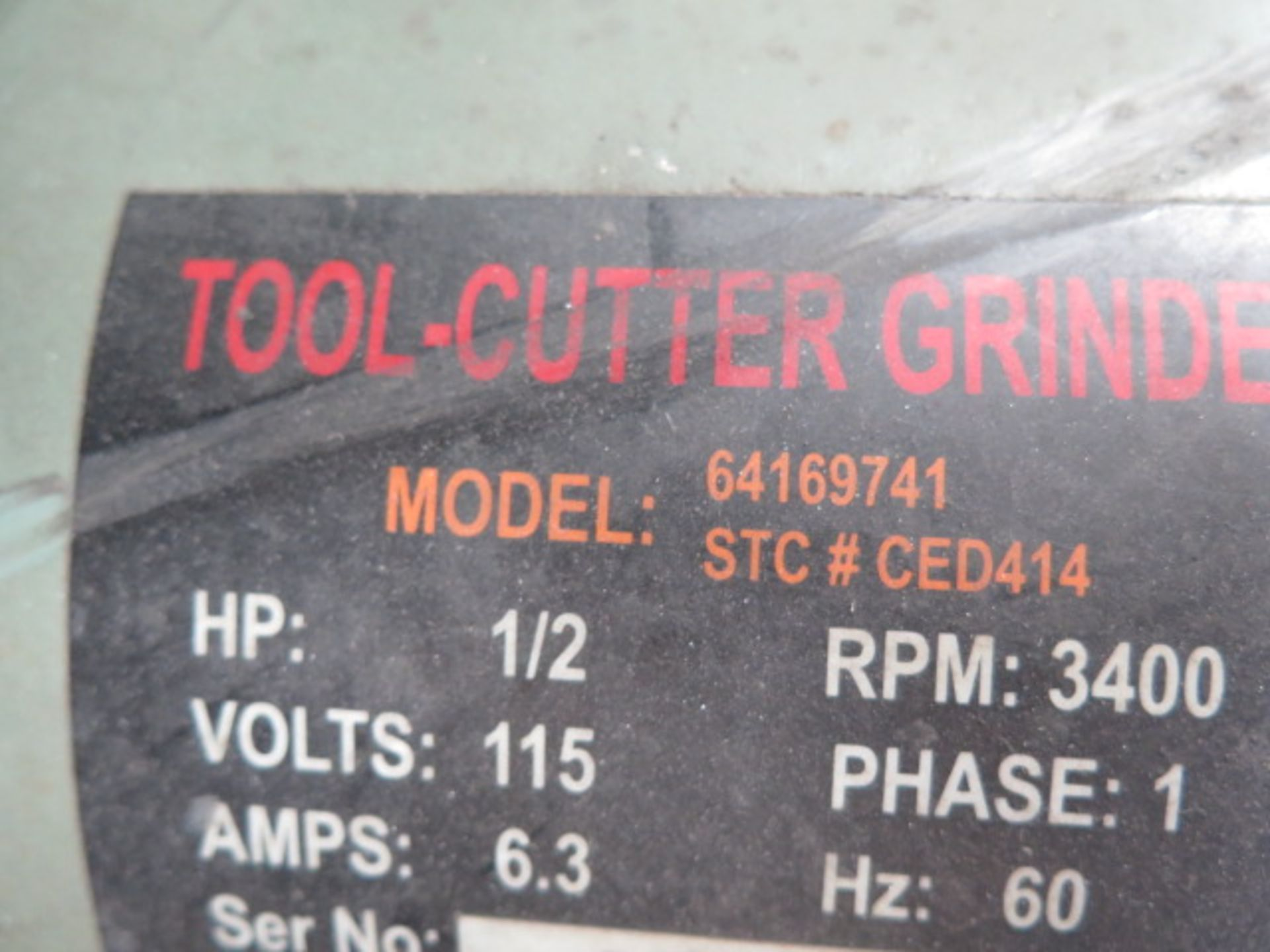 Import Carbide Tool Grinder (NEEDS REPAIR) (SOLD AS-IS - NO WARRANTY) - Image 6 of 6