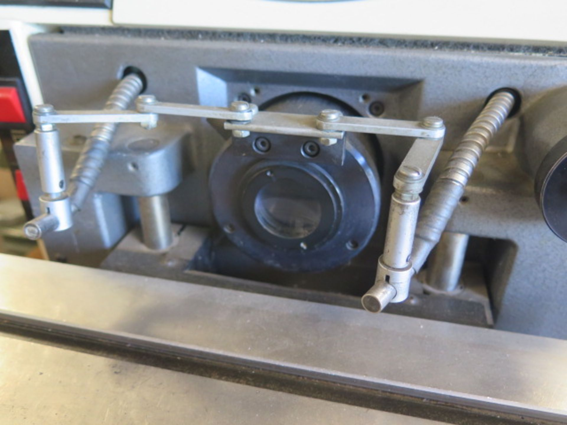 """Gage Master Series 20 13"""" Optical Comparator w/ Gage Master GM4 DRO, Dig Angular Readout, SOLD AS IS - Image 7 of 10"""