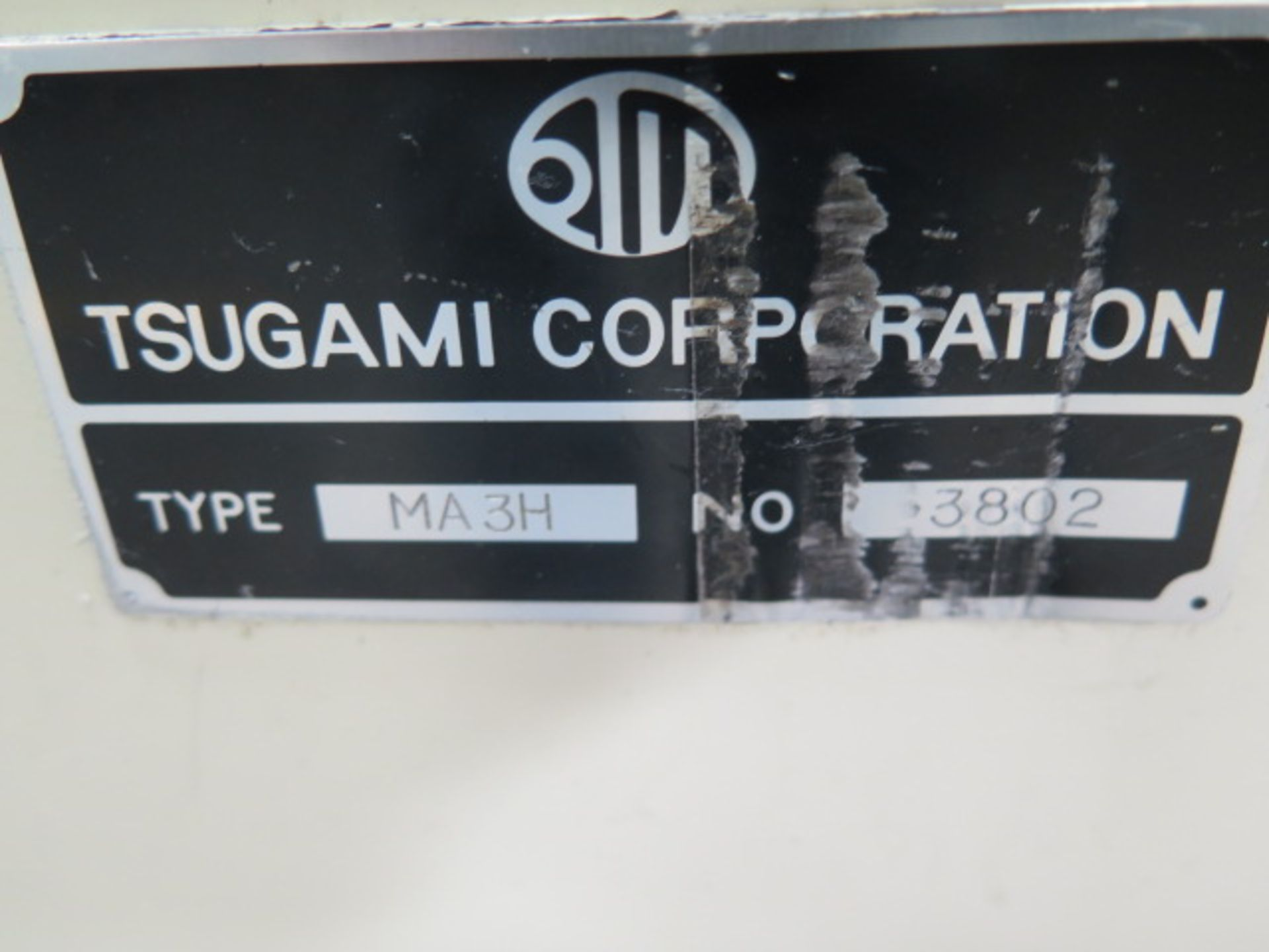 Tsugami MS3.10P Type MA3H 4-Axis 10-Pallet CNC HMC (HAS X-AXIS PROBLEM), SOLD AS IS - Image 20 of 20