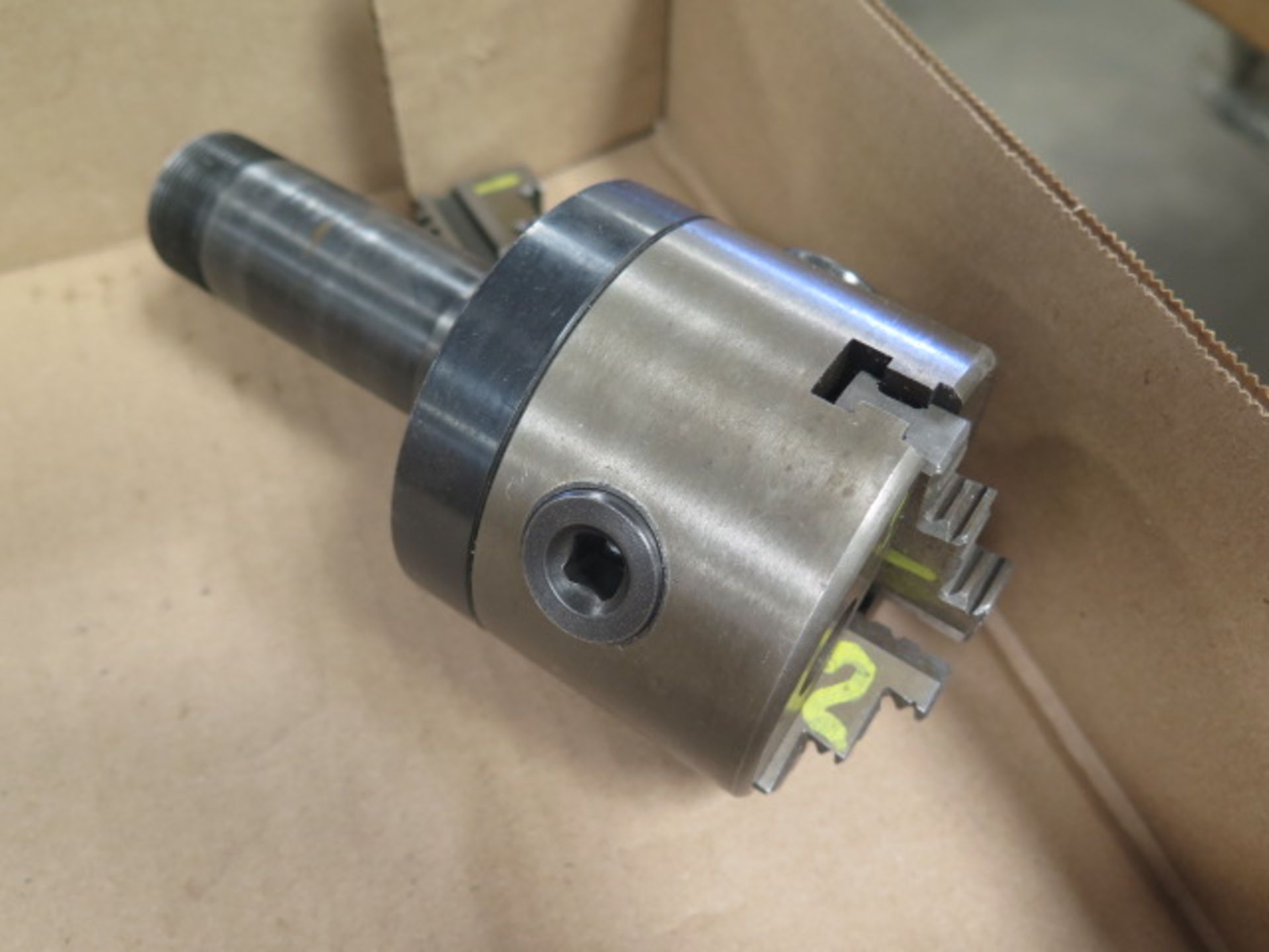"4"" 3-Jaw Chuck w/ 5C Adaptor (SOLD AS-IS - NO WARRANTY) - Image 3 of 4"