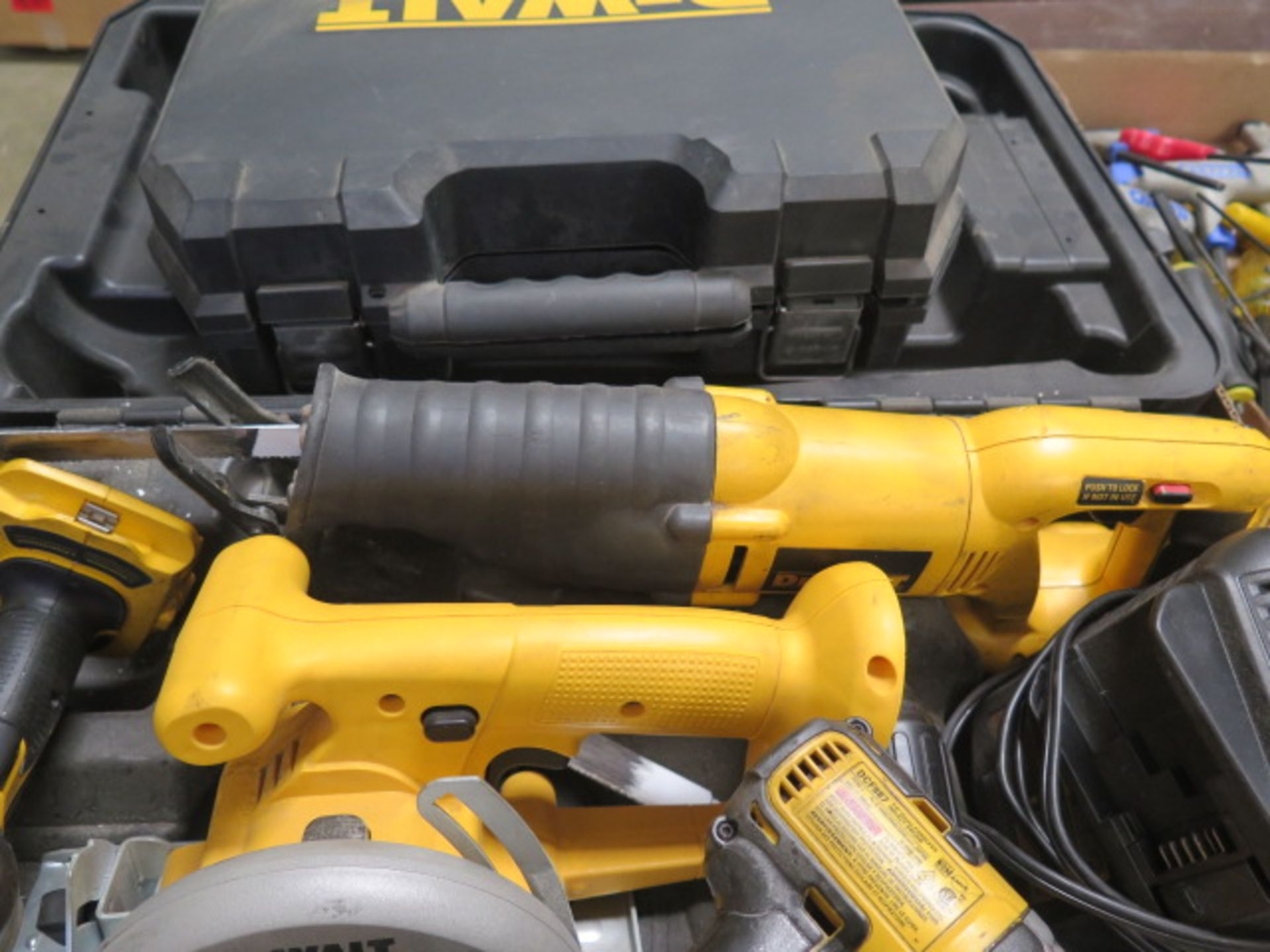 DeWalt Cordless Tools w/ Charger (SOLD AS-IS - NO WARRANTY) - Image 4 of 9