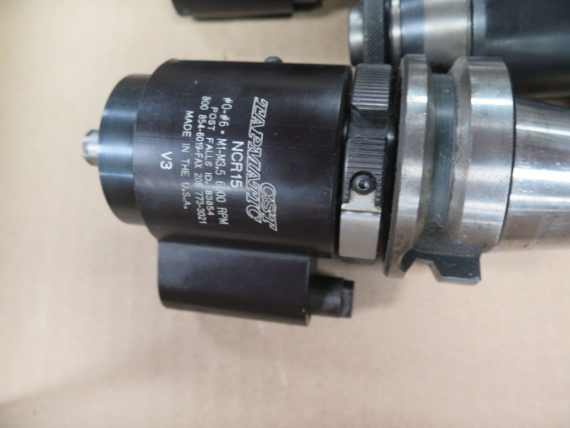 BT-40 Taper Tapmatic Tapping Heads (2) and CNC Tapping Head (SOLD AS-IS - NO WARRANTY) - Image 4 of 5