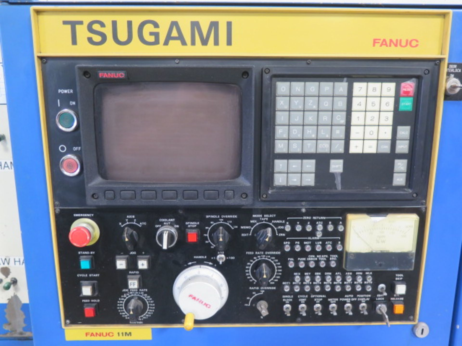 Tsugami MS3.10P Type MA3H 4-Axis 10-Pallet CNC HMC (HAS X-AXIS PROBLEM), SOLD AS IS - Image 5 of 20